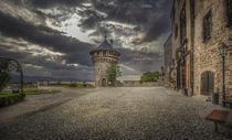 Blick über die Große Freiterrasse vor dem Schloß Wernigerode® von Manfred Hartmann
