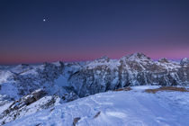 Blue hour over 2000m by Bor Rojnik