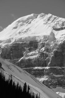 Mount Lefroy near Lake Louise, Alberta by Geoff Amos