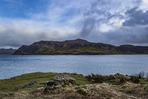 View across the Sound of Raasay on the Scorrybreac walk, near Portree by Bruce Parker