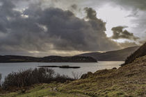 View across the Sound of Raasay on the Scorrybreac walk, near Portree von Bruce Parker