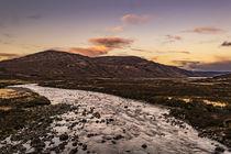 View from New Bridge at Sligachan, Isle of Skye, Scotland by Bruce Parker