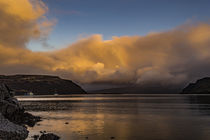 View of Rassay Sound from Loch Portree, Isle of Skye, Scotland by Bruce Parker