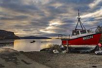 View looking west north west from Stein Slipway, Isle of Skye, Scotland von Bruce Parker