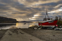 View looking west north west from Stein Slipway, Isle of Skye, Scotland by Bruce Parker