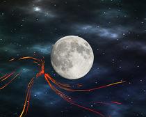 Fire streaks in the universe von Michael Naegele