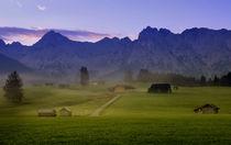 Morgen im Garmisch von Katerina Mirus