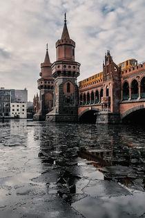 Oberbaumbrücke im Winter von Karsten Houben