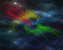 Universe streaks by Michael Naegele
