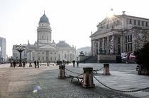 Gendarmenmarkt, Sonnenstrahlen by Karsten Houben