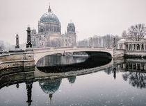 Berliner Dom im Winter by Karsten Houben