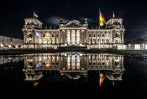 Reichstag, Reflektion by Karsten Houben