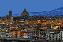 Panorama Florenz  by Frank Voß