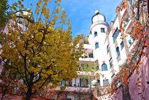 Hundertwasser-Haus in Magdeburg... 2 von loewenherz-artwork