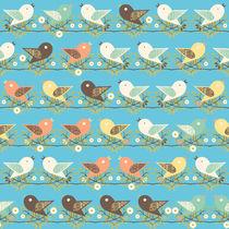 Assorted birds pattern von Gaspar Avila