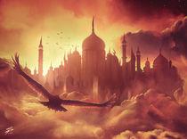 (Cloud) City of Brass by simonpape