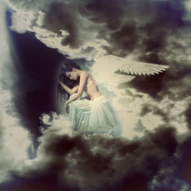 Sad Angel In Heaven by lucia