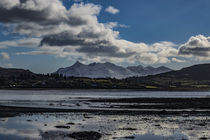 View of Cuillin Hills from Bayfield at Loch Portree, Isle of Skye by Bruce Parker