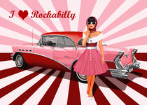 I love Rockabilly by Monika Juengling