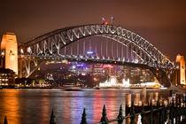 Habour bridge Sydney, Autralia by dennisundlars