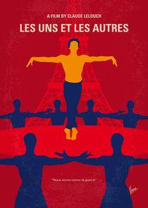 No771 My Les Uns et les Autres minimal movie poster von chungkong