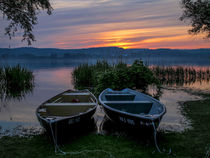 Die zwei Boote by Christine Horn