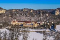 Kloster Beuron im Winter by Christine Horn