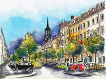 Dresden, Königstraße von Hartmut Buse