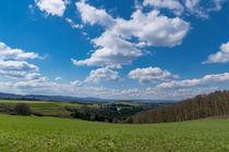 Landschaft im Frühling by Ronald Nickel