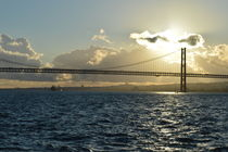 Lisbon and Tagus by melinaestrangeira