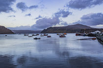 View of Rassay Sound from the quay at Portree Harbour, Isle of Skye, Scotland by Bruce Parker
