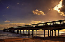 Boscombe Pier Sunset by Nigel Finn