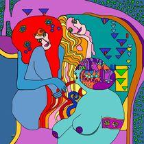 Wenn man an Gustav Klimt denkt ... die feindlichen Gewalten!