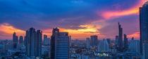 Sonnuntergang über Bangkok / Sunset over bangkok by Martin Gröger