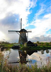 Windmill by Wilma Overwijn-Beekman