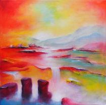 Fantasieland in rot by Lydia  Harmata