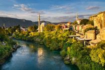 Autumn in Mostar von Michael Abid