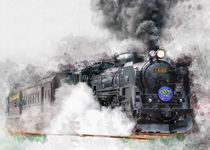 Dampflokomotive von Peter Roder