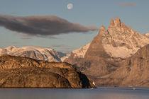 Sunrise in Greenland - Sonnenaufgang in Grönland von Alexander Kassler