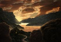 Leuchtender Morgen by Simone Wunderlich