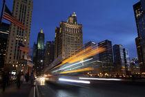 Durch Chicago bei Nacht by buellom