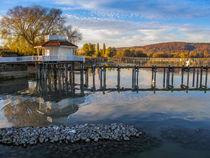 Bootshaus in Bodman von Christine Horn