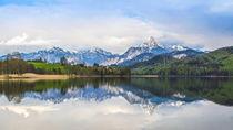Weißensee mit Alpenpanorama by Christine Horn