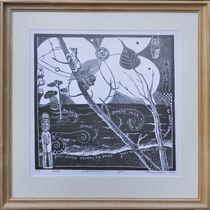 Powrot do niewinnosci - Uljado - with wood frame by uljado