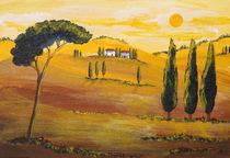 Sonnenschein am Morgen in der Toskana/ Sunshine in the Morning in Tuscany