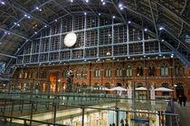 Bahnhof St. Pancras in London, 2 von Hartmut Binder