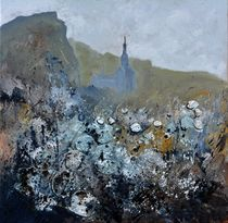 abstract urban landscape by pol ledent