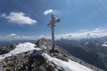 Gamsjoch Gipfelkreutz von Rolf Meier