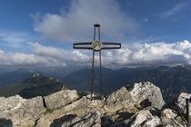 Teufelstättkopf Gipfelkreuz by Rolf Meier
