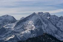 Alpspitze im Schnee von Rolf Meier